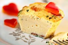 Яичница-Болтунья в виде кексов