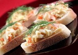 Бутерброды «крабовые»