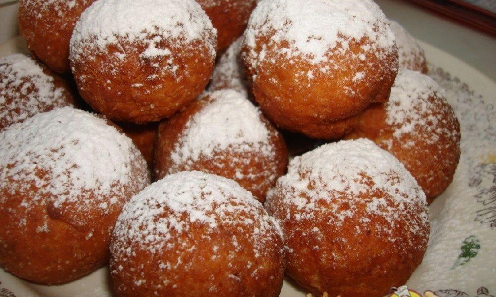Апельсиновые творожные пончики рецепт