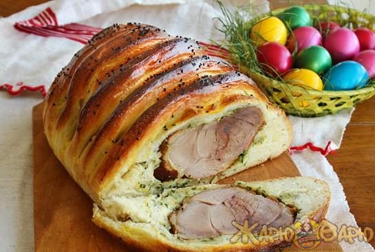 Буженина в хлебе рецепт