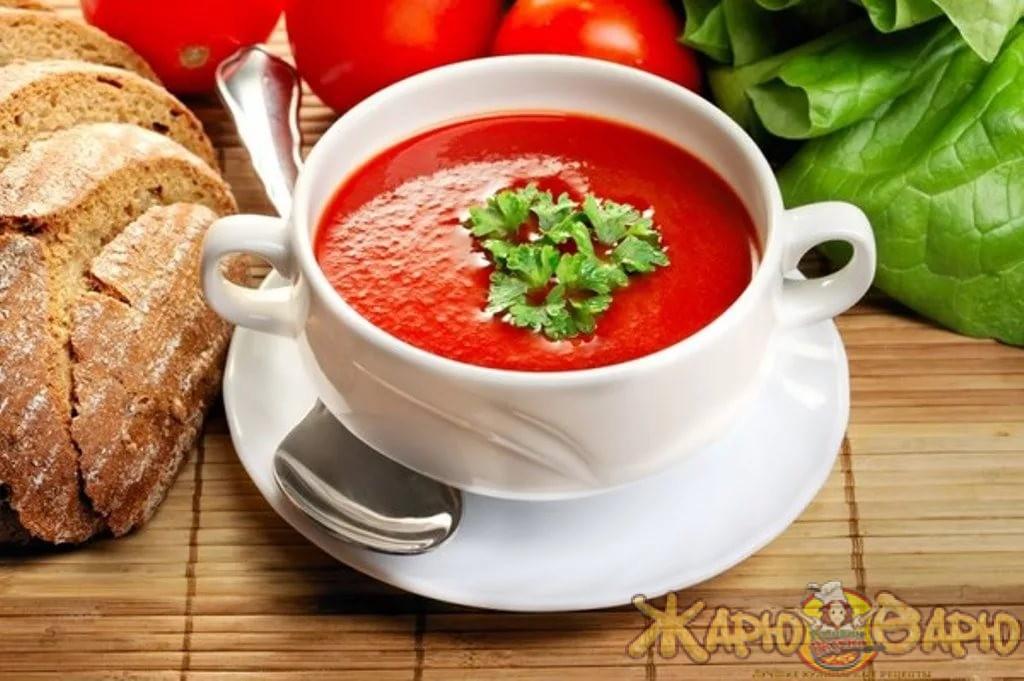 Гаспачо - холодный томатный суп
