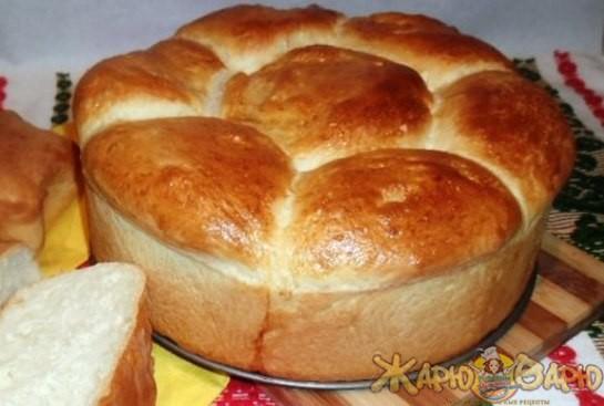 Домашний хлеб на кефире рецепт