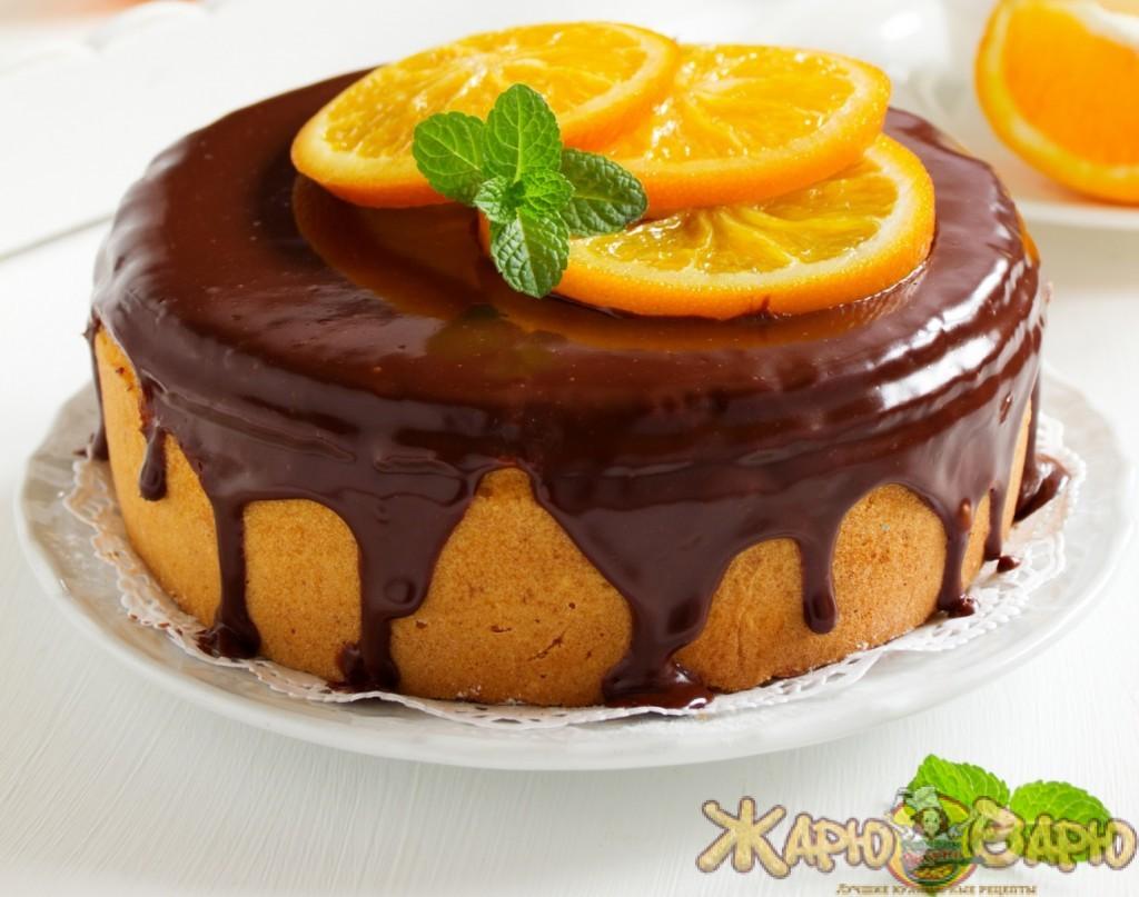 Кулич фаршированный апельсиновым и шоколадным кремом рецепт