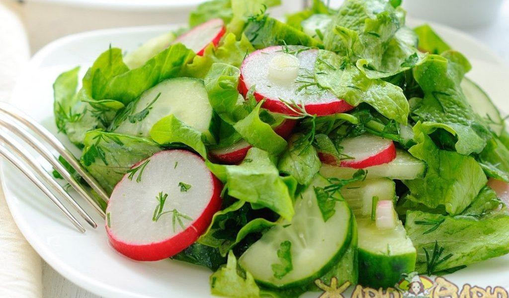 Любимый весенний салат рецепт