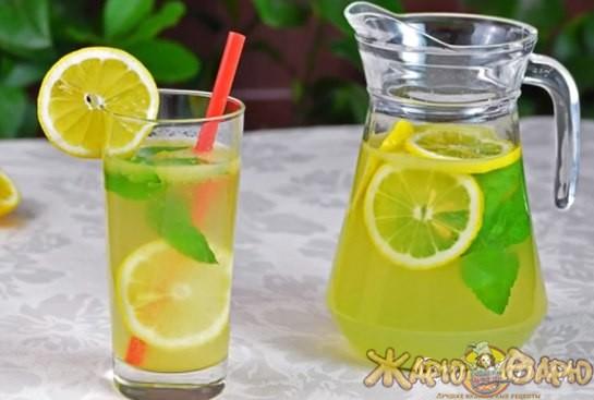 Домашний лимонад с мятой рецепт