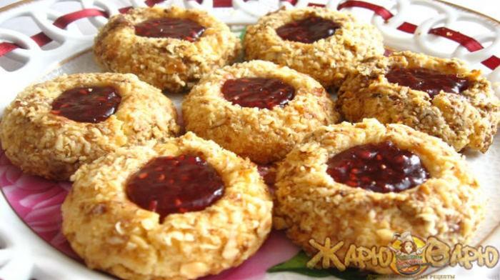 Печенье «напёрсточки» рецепт